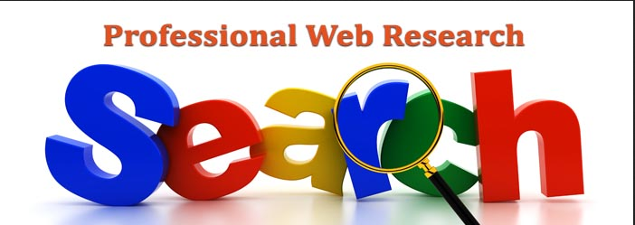 do web research and data entry
