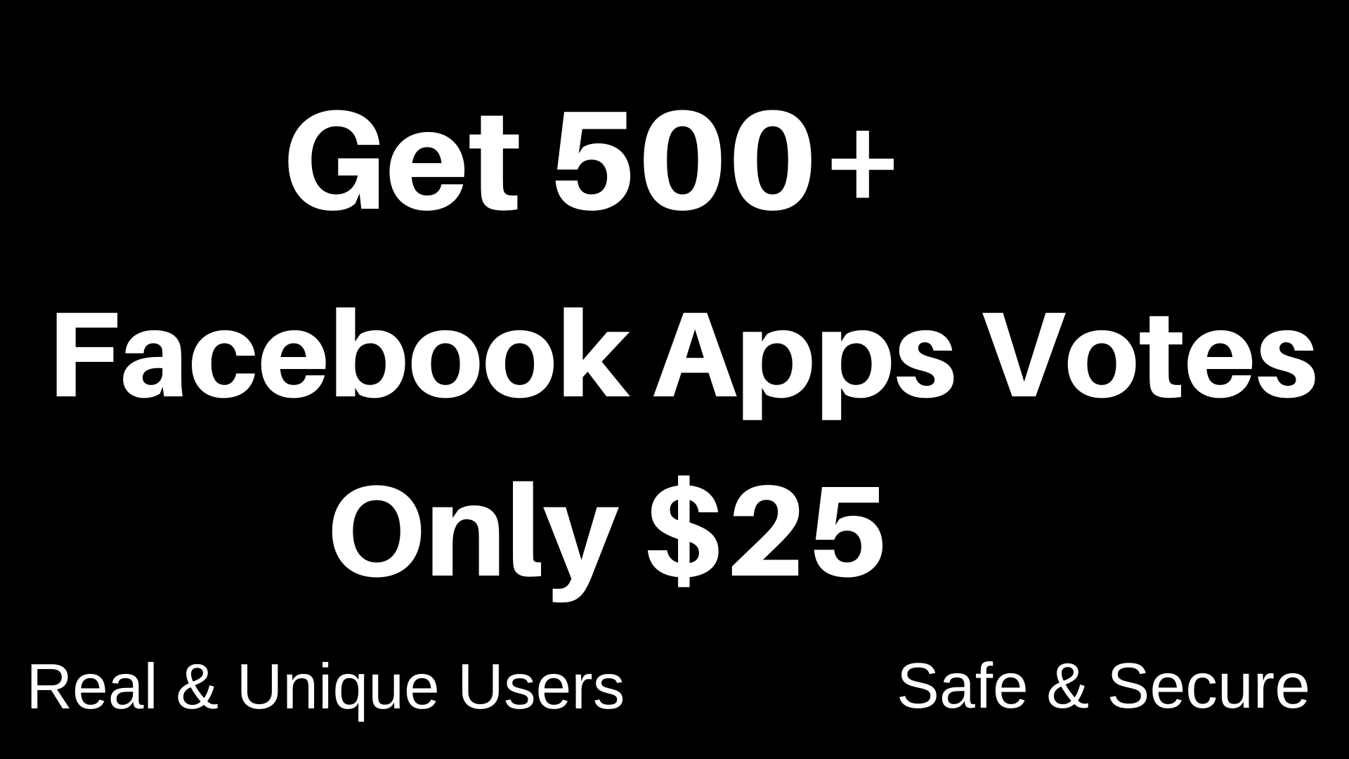 Provide 500 Apps vote through social media profile for your Apps connecting voting contest