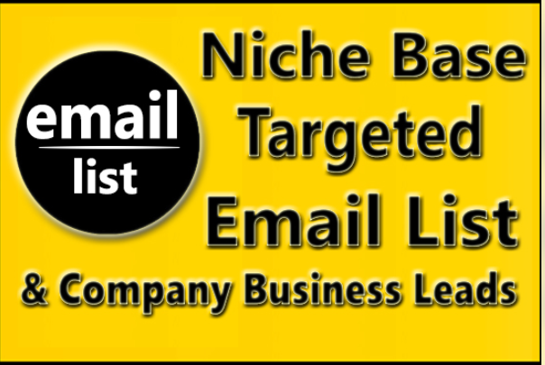 collect targeted email list for your business