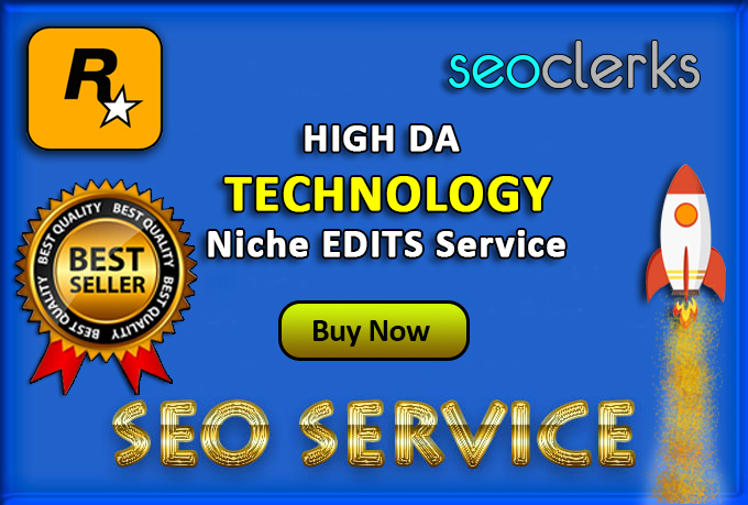 [SkyRocket Niche edits] Outreach link building with RD 100+ [Technology niche only]