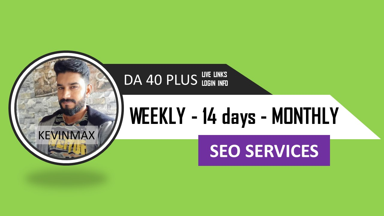 Do Weekly Bi Weekly and Monthly SEO Works - Super Powerful