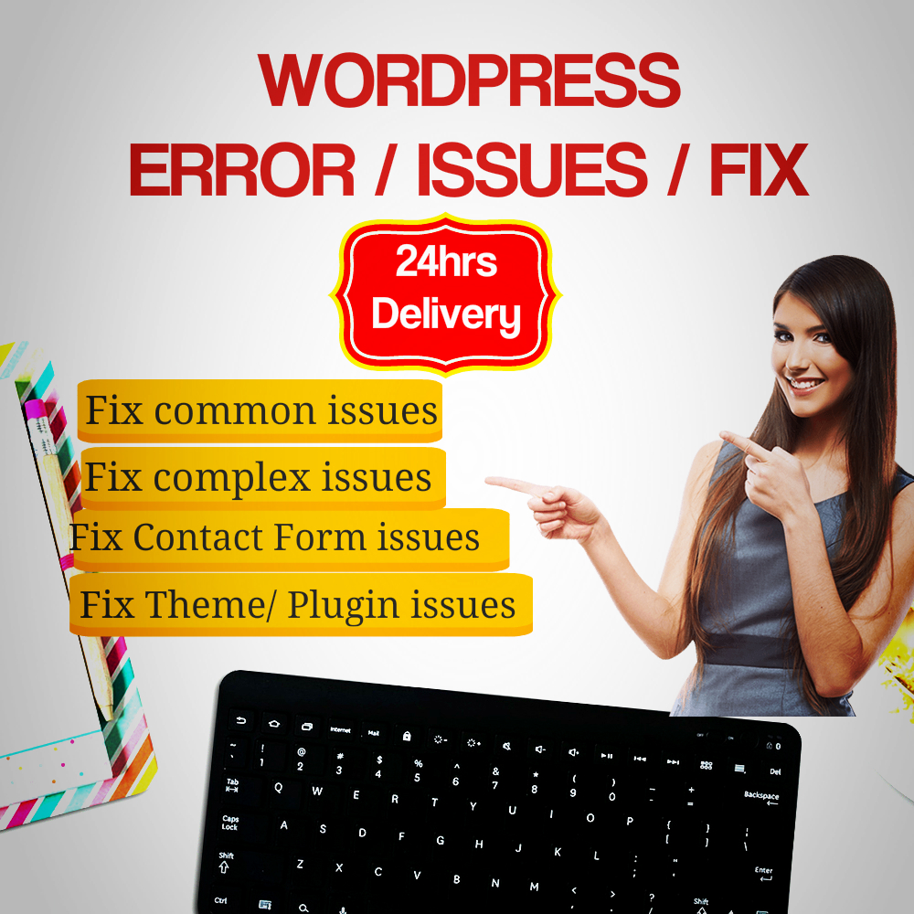 I Fix Wordpress Issues,  Errors Or Problems