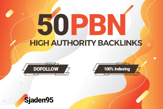 Create 50 PBN Backlinks With High DA PA Do-Follow