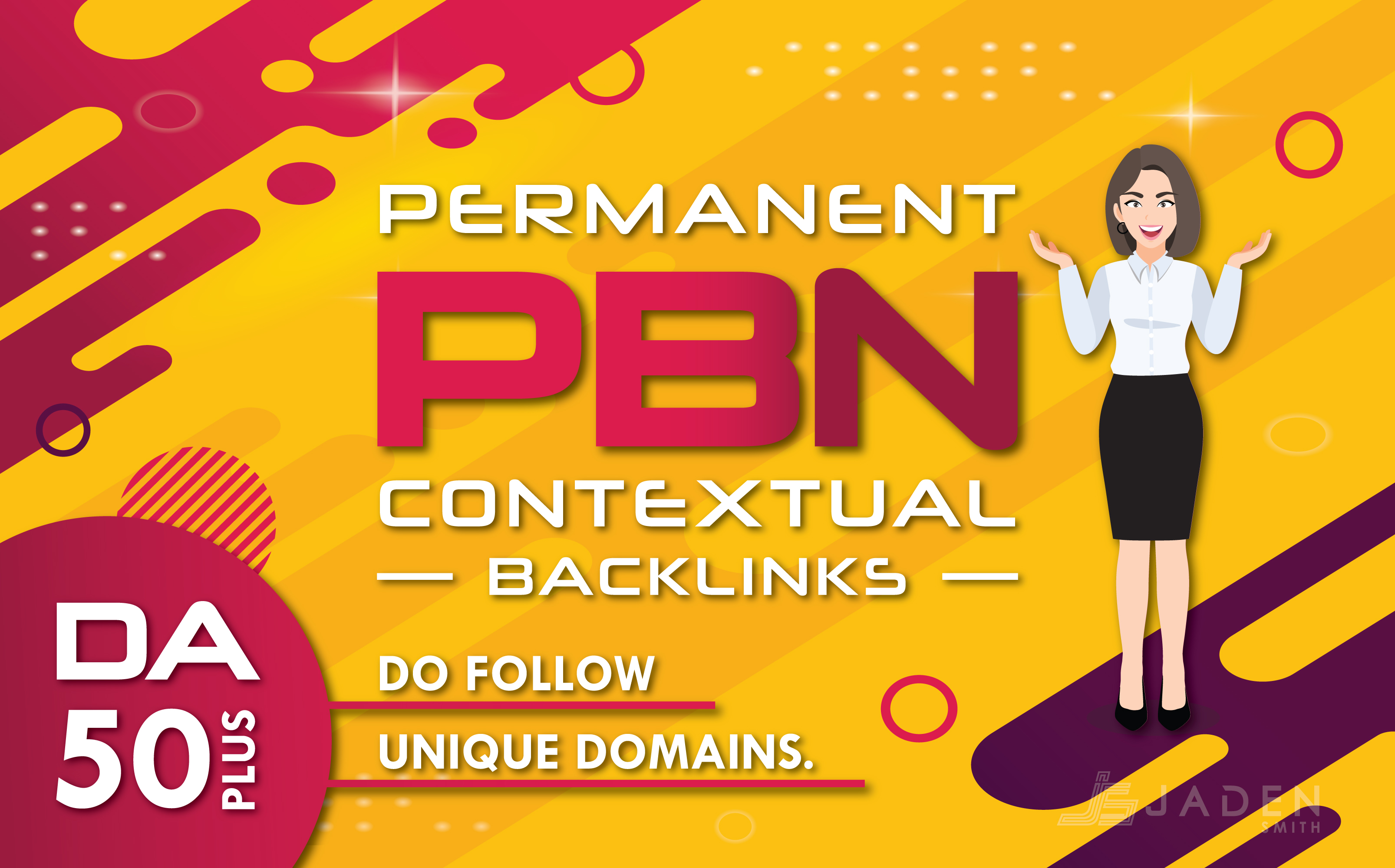 Make High Quality 50 Plus DA Do Follow 15 Backlinks
