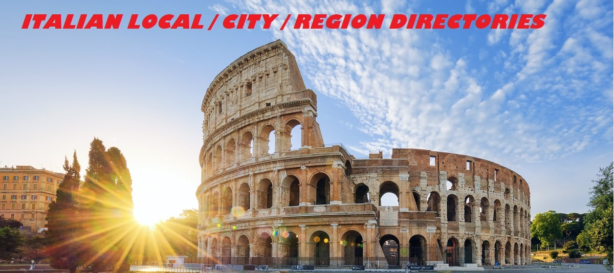 submit your website in niche,  city and region directories of Italy