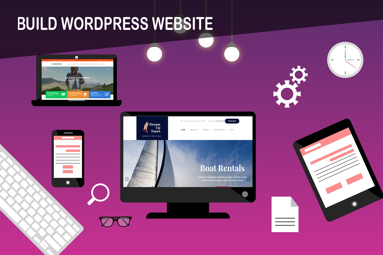 Develop Professional Wordpress Website Design Or Blog
