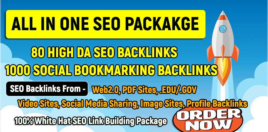 All in One Link Building SEO Package