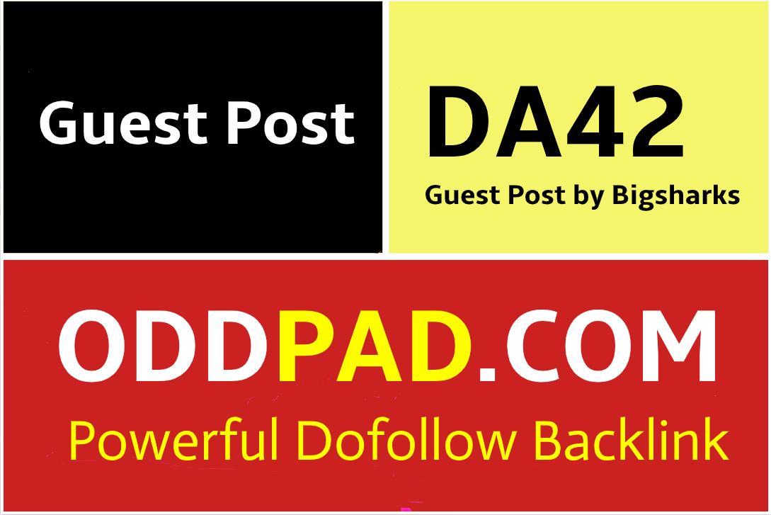 I Will Publish A Guest Post On Oddpad, Oddpad.com