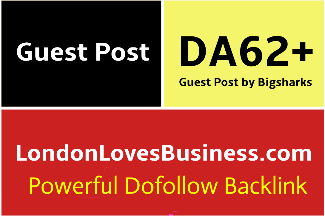 I Will Publish a Guest Post on LondonLovesBusiness, LondonLovesBusiness.com