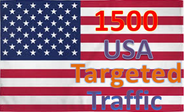Get Adsense safe 1500 USA Targeted Human Traffic to your web or Blog site