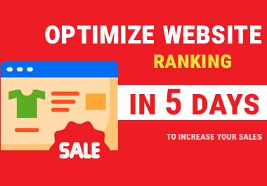 i Will Optimize Website SEO in 5 days - build 10 backlinks from High Authority
