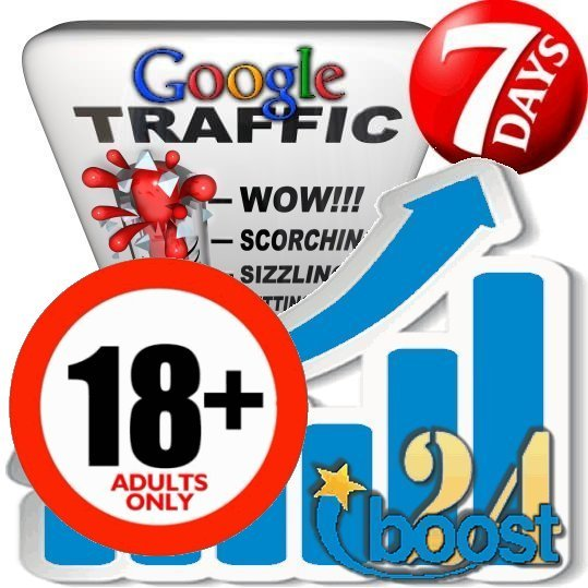Adult Search Traffic from Google (XXX & 18+)