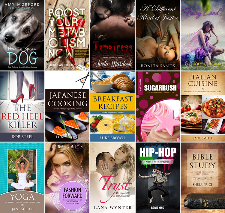 Design a Awesome kindle Book or Ebook Cover Design