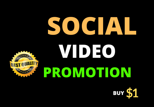 High Quality Video Promotion Organic and Real