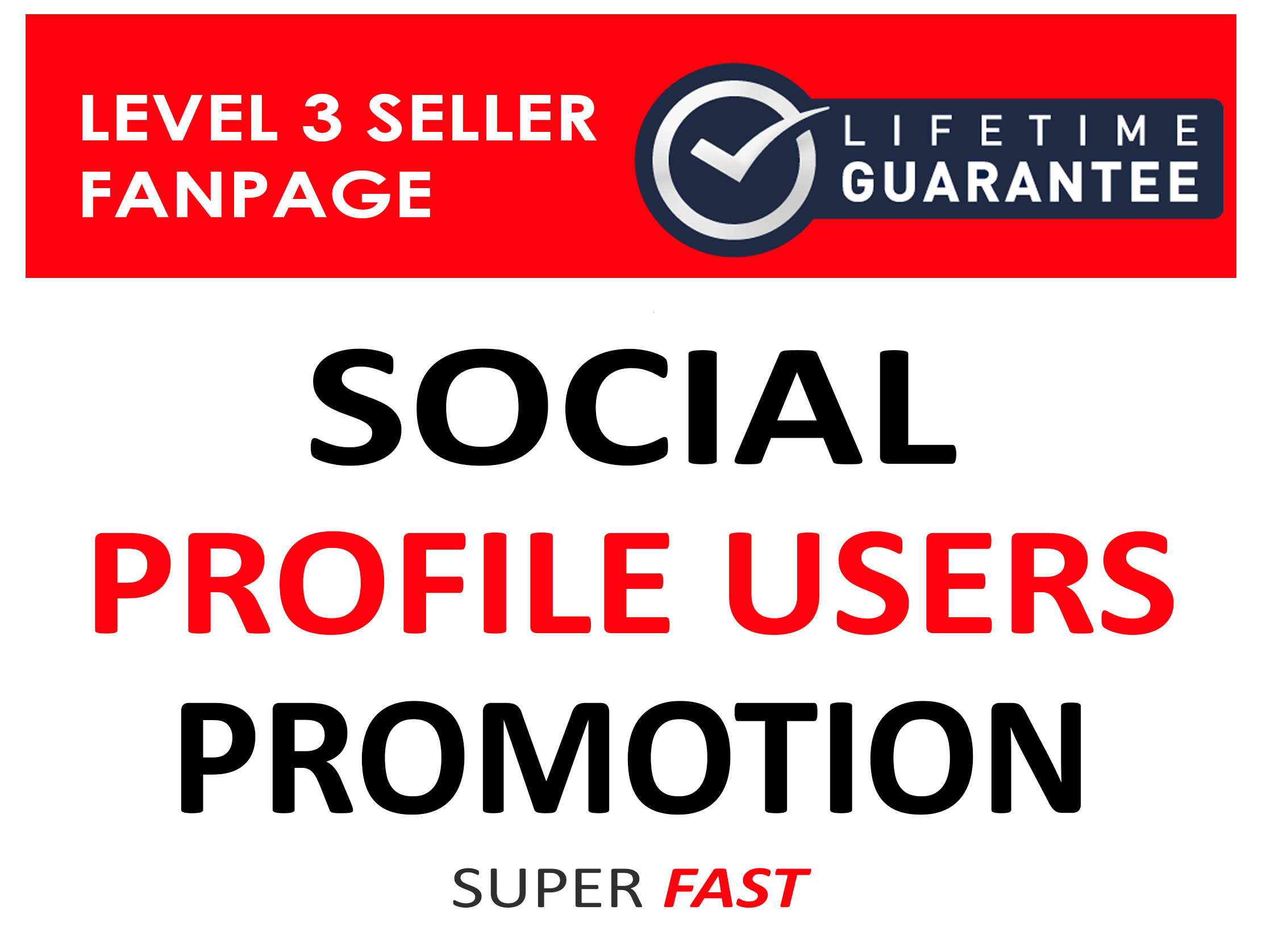 SOCIAL PROFILE FOLLOWERS NON DROP AND HIGH QUALITY PROMOTION INSTANT START