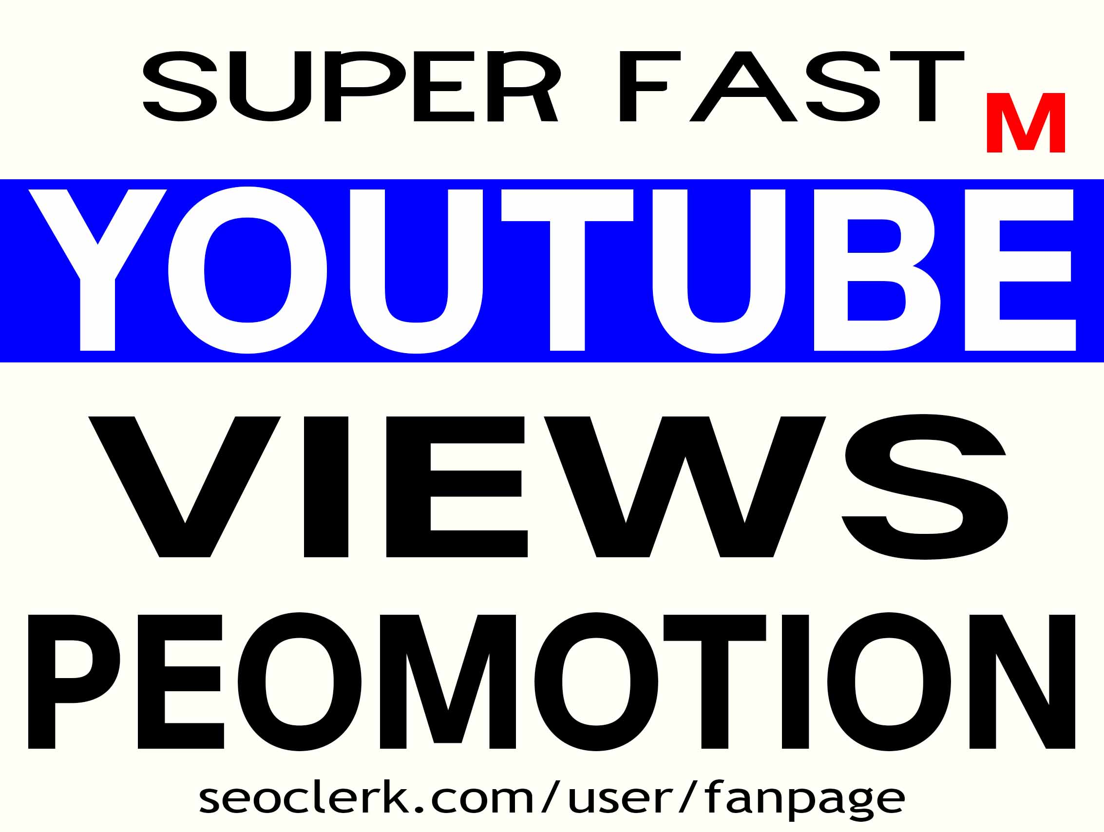 NON DROP - YOUTUBE VIDEO PROMOTION INSTANT START & HIGH QUALITY