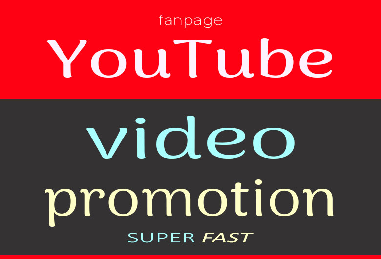 YouTube Video Long Lasting Promotion And Marketing Service