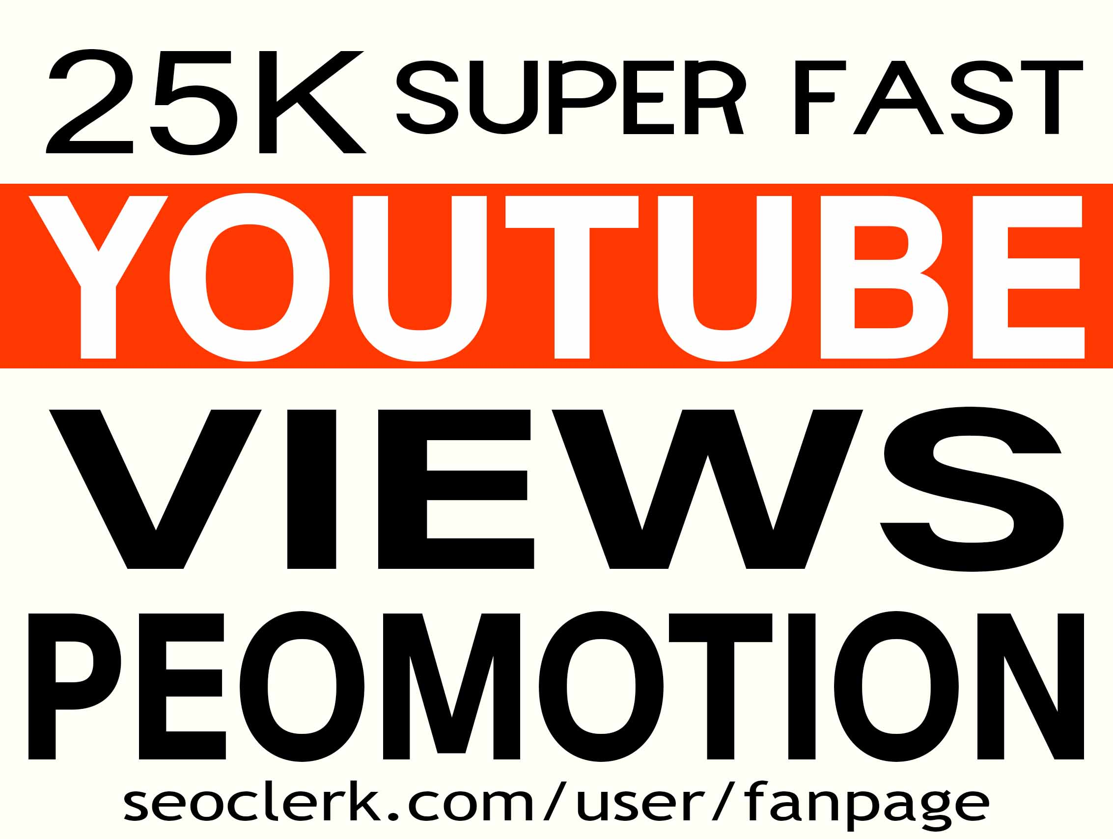 YOUTUBE VIDEO PROMOTION NON DROP INSTANT START AND HIGH QUALITY