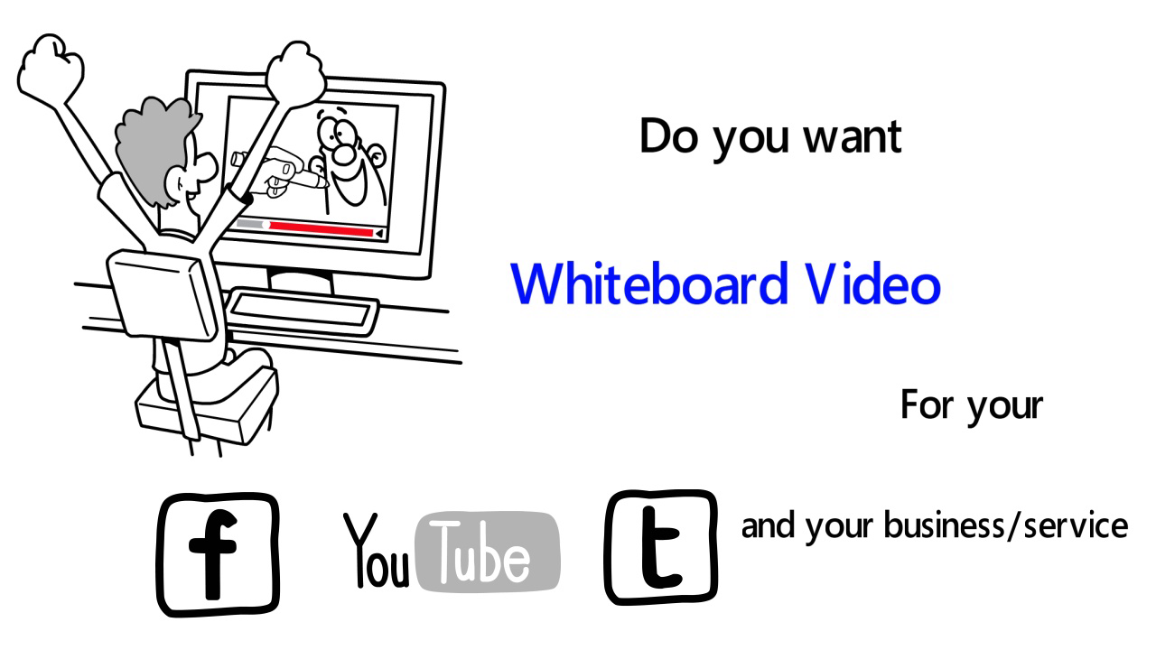 Create Professional Whiteboard Explainer in 24 hours