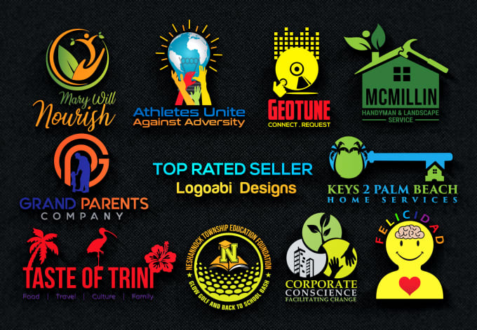 do Modern Logo design 24 hours delivery