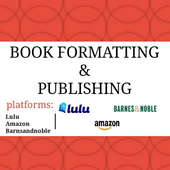 I will do book formatting and layout design for publishing