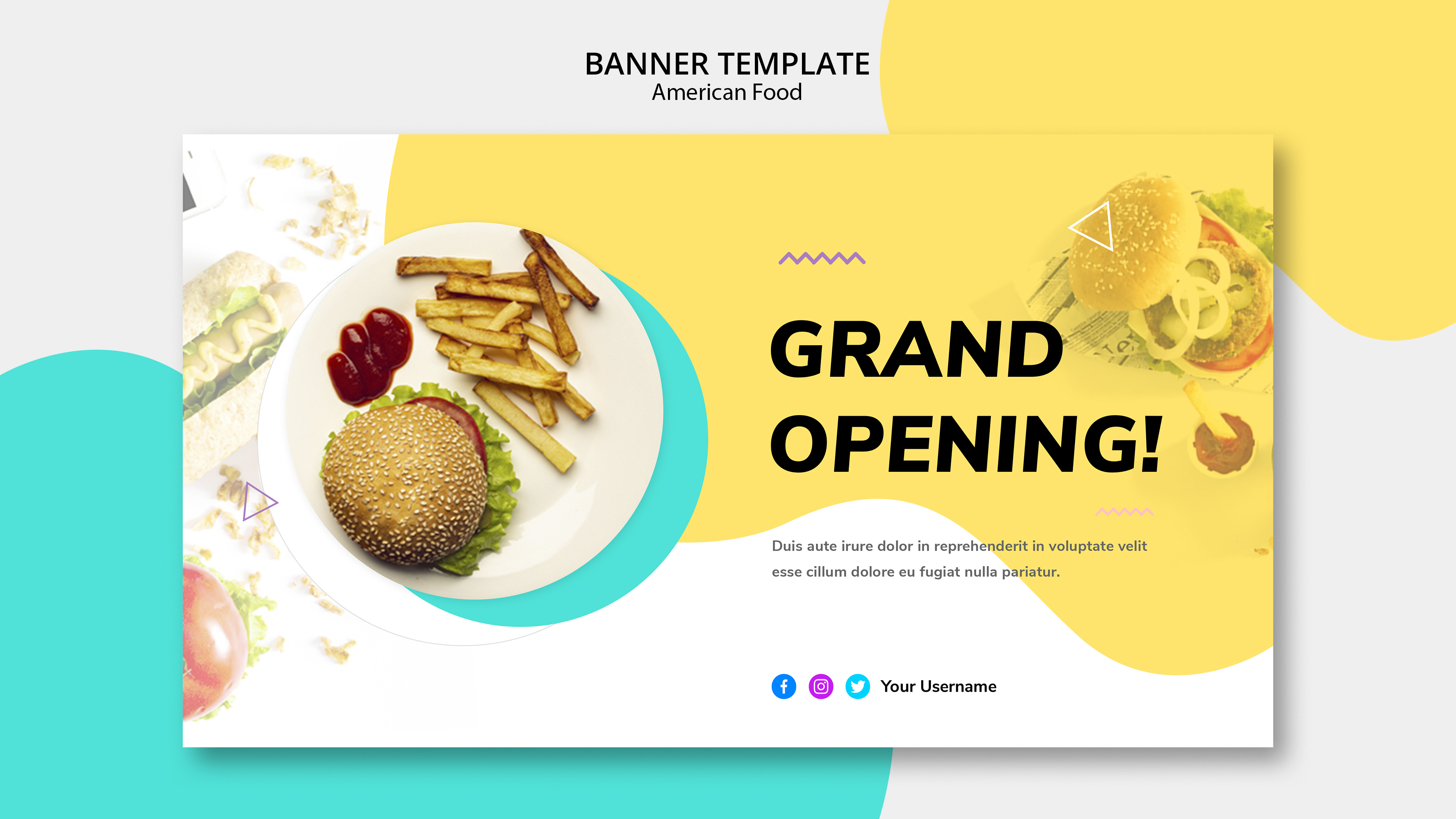 I will designer Banner for Your Social media or Websites
