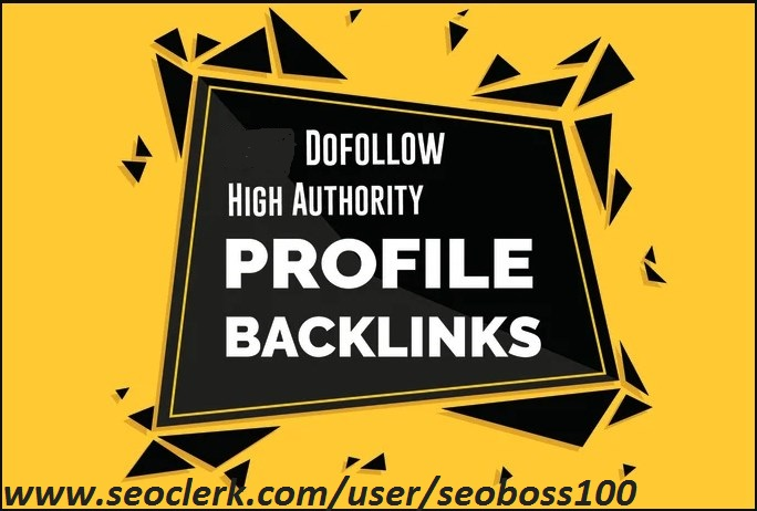I will do social media SEO profile backlinks