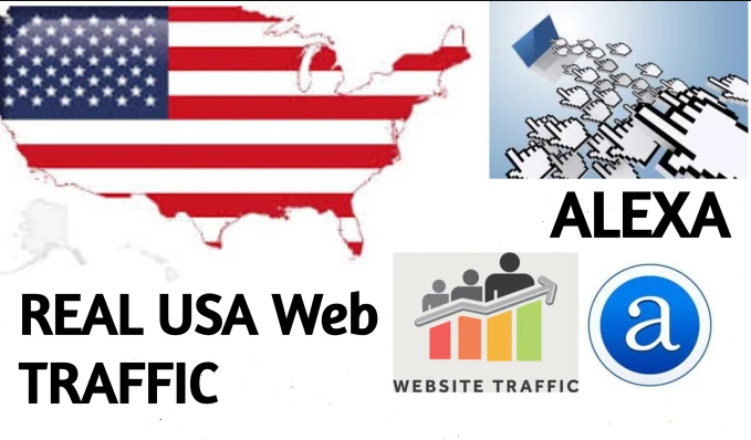 I will send 14,000 real traffic from USA to your site