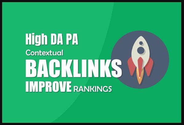 DA 50 High Domain Authority Dofollow 10 Backlinks Multiple Keywords For Anchor Text