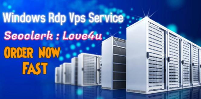 I Provide Renewable Dedicated USA windows RDP VPS server cloud
