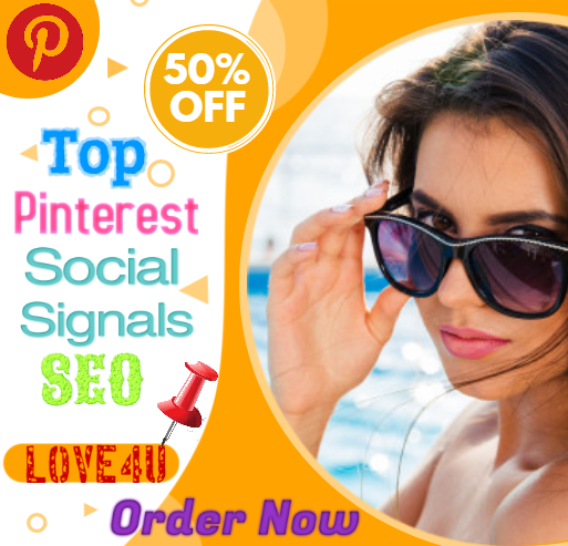 60,000 Pinterest Social Signals bookmark SEO Ranking First Page Google