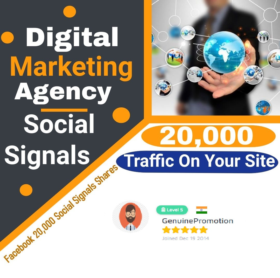 I Provide Social Signals Manually Grow Any Sites Seo Ranking Bosting Best Place