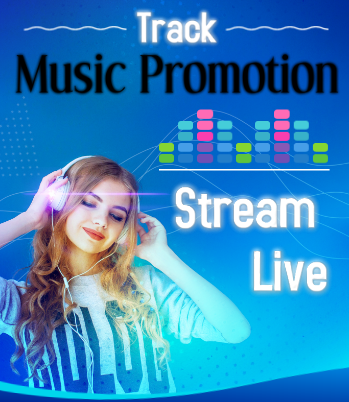 HQ USA Instant Stream Music Promotion To Your Track Song Playlists