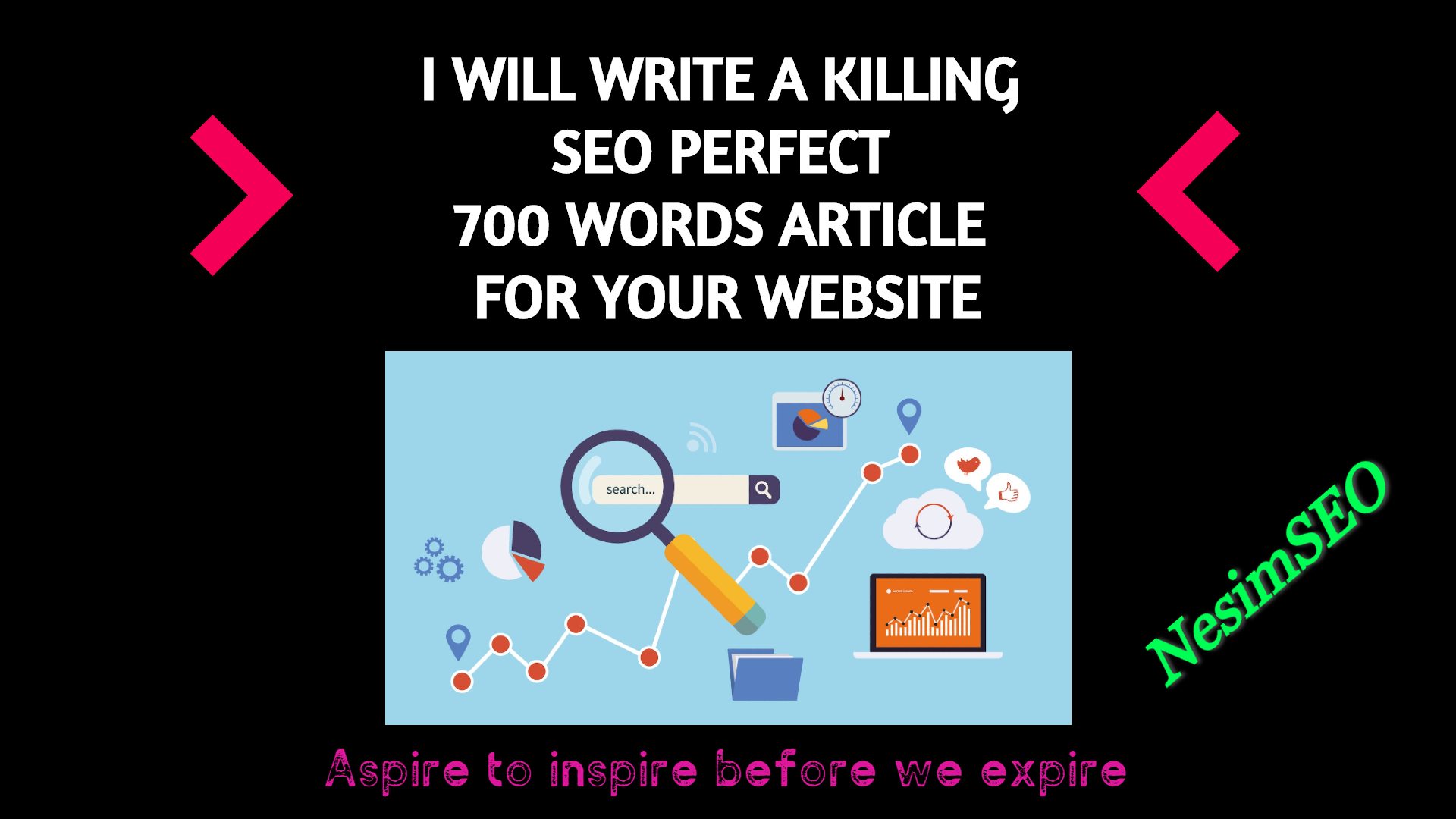I Will Write A Killing SEO Perfect 700 Words Article For Your Website