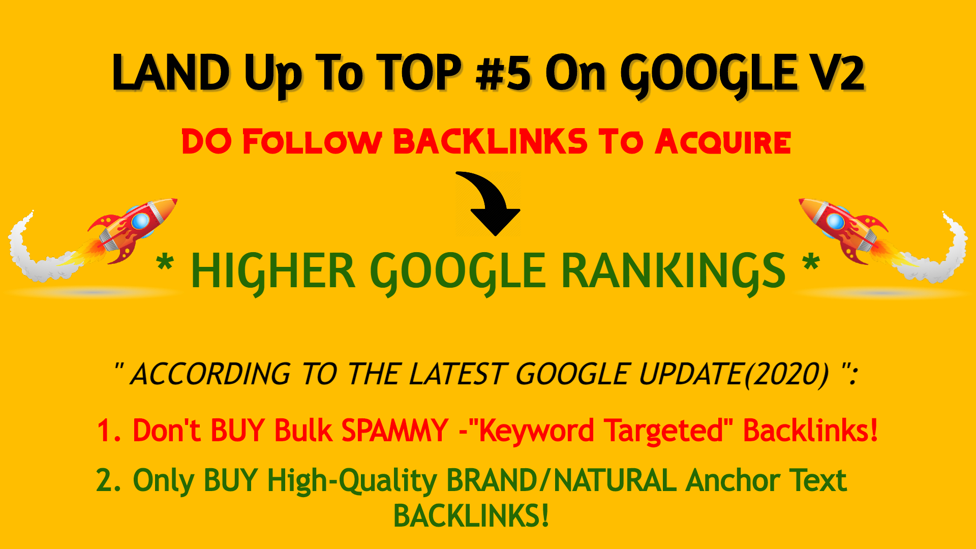 Land Up To Top 5 On Google V2 - Keyword Oriented PBN Articles