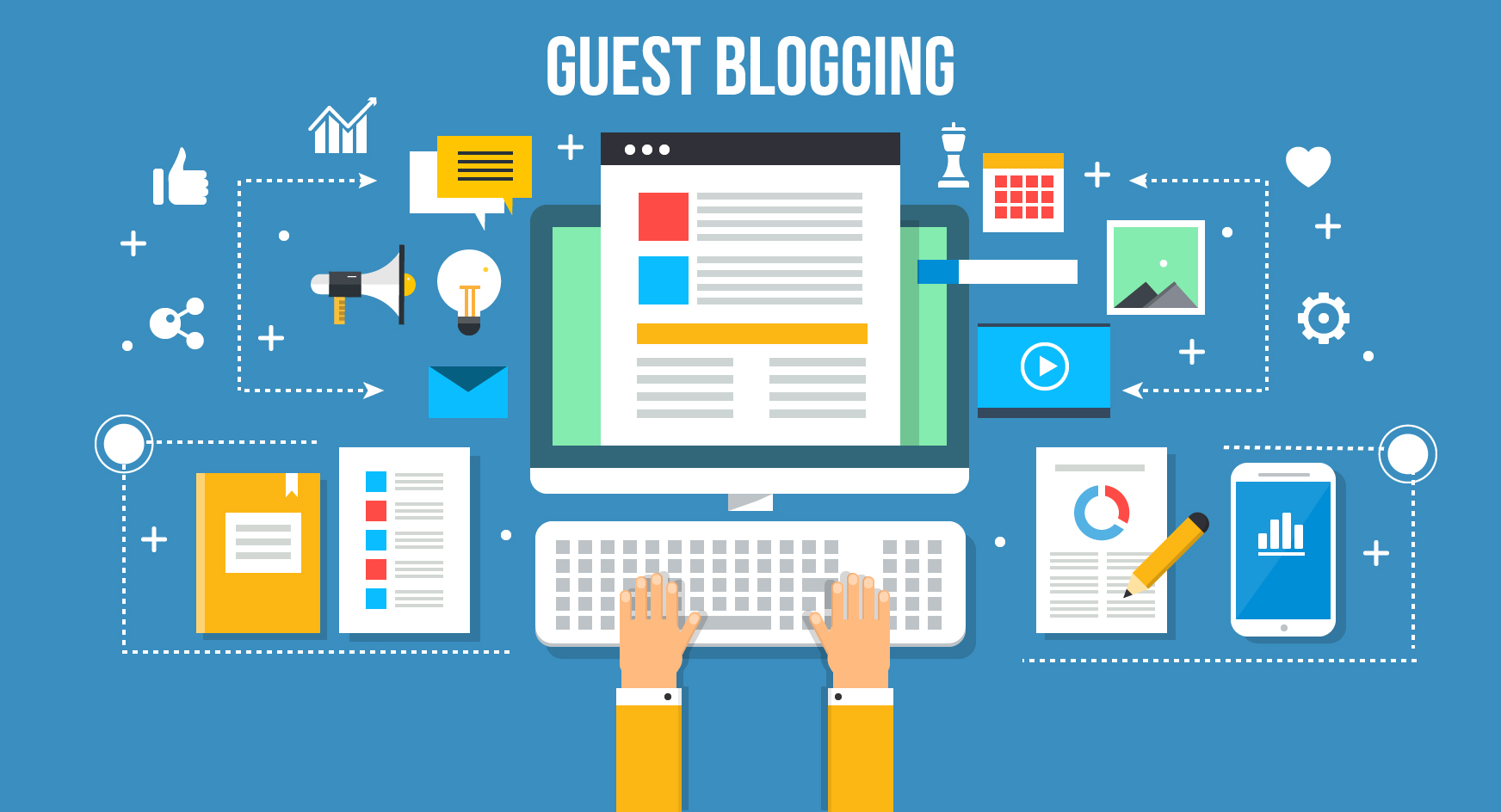 PUBLISH a HQ GUEST POST on DA 90+ WEBSITE