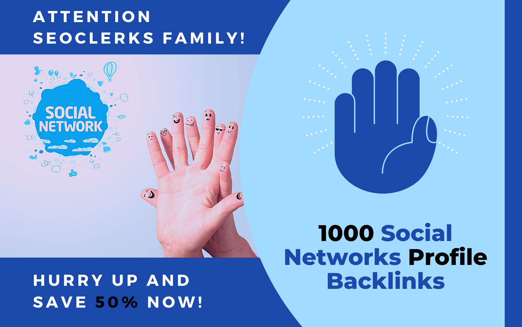 1000 Social Networks Profile Backlinks + Premium Indexer