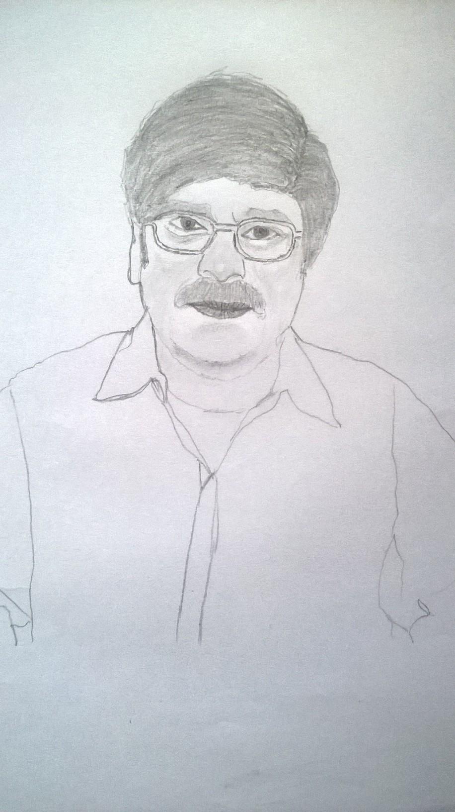 i will draw any photo with pencil