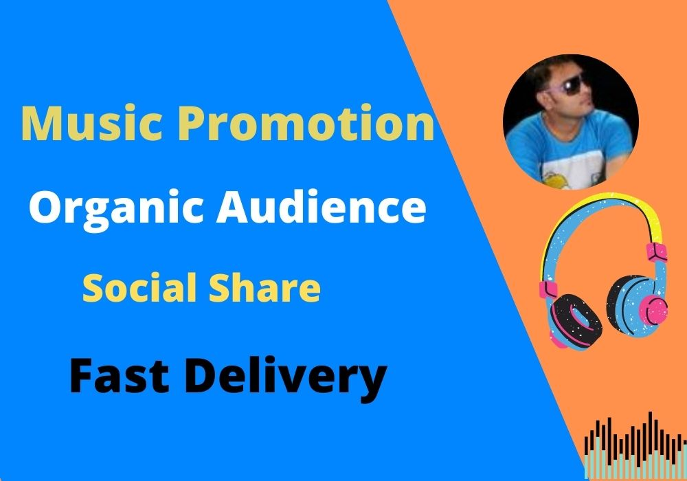 Get organic music promotion and run campaigns