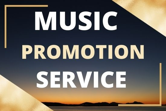 Get organic music promotion to real audience