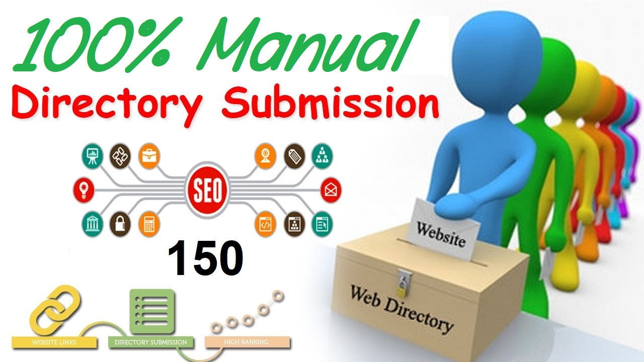 I will manually Submit Your Site to 150 Dofollow Directoy