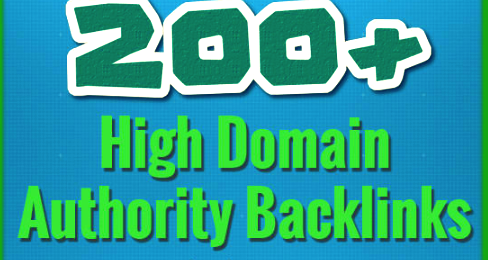 200 Backlinks On High Domain Authority Websites