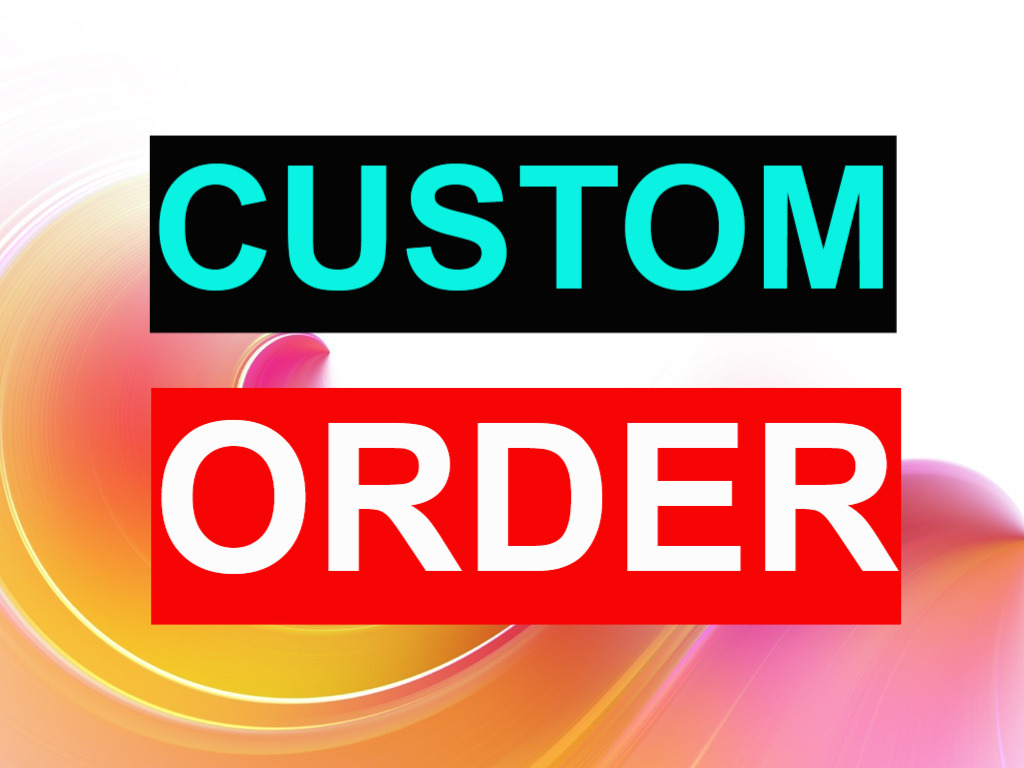 Custom Order for Social Service (Message me before order)