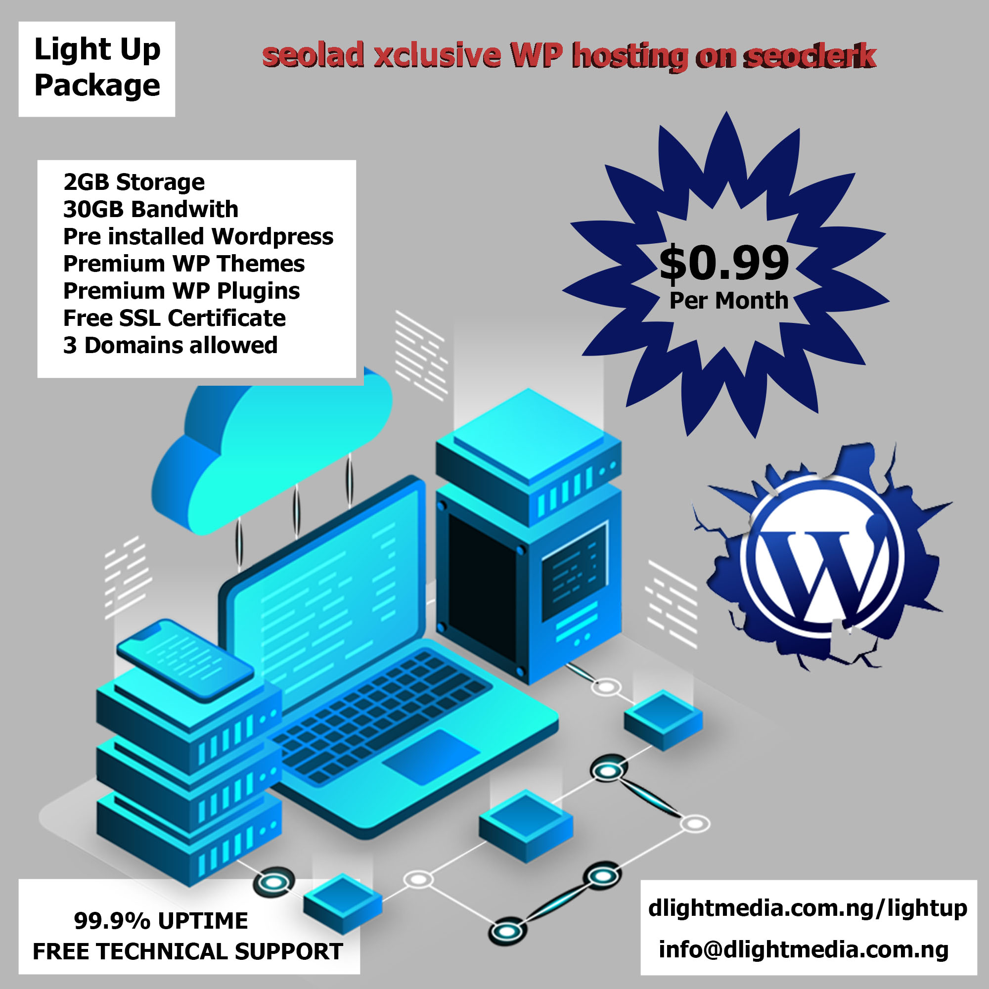 High quality WP Hosting plus Premium themes and plugins