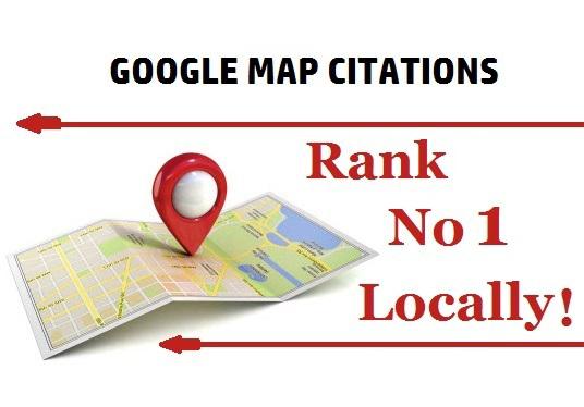 Do 350 Google Map Citations To Improve Local SEO & Google Maps