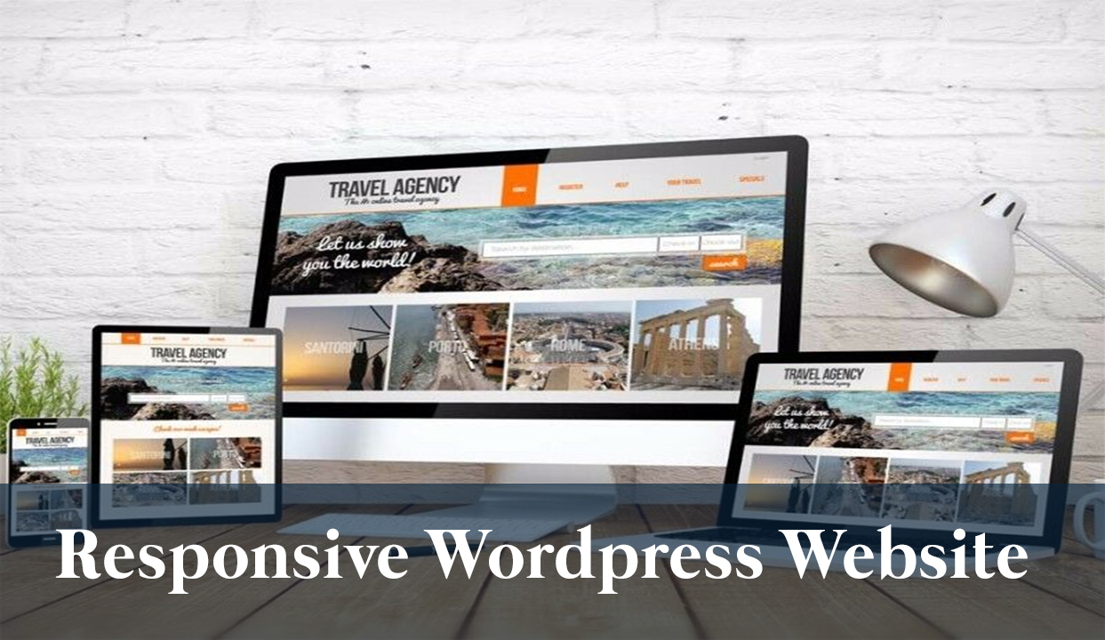 Create a 5 Page Responsive Elegent Complete Wordpress Website