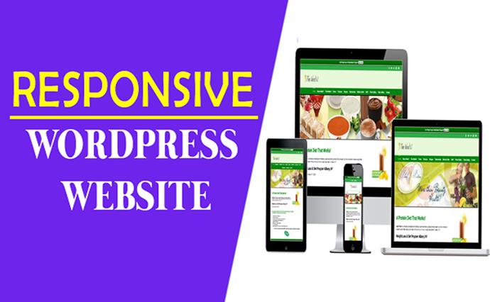 Create a 5 Page Responsive Elegent Complete Wordpress Website