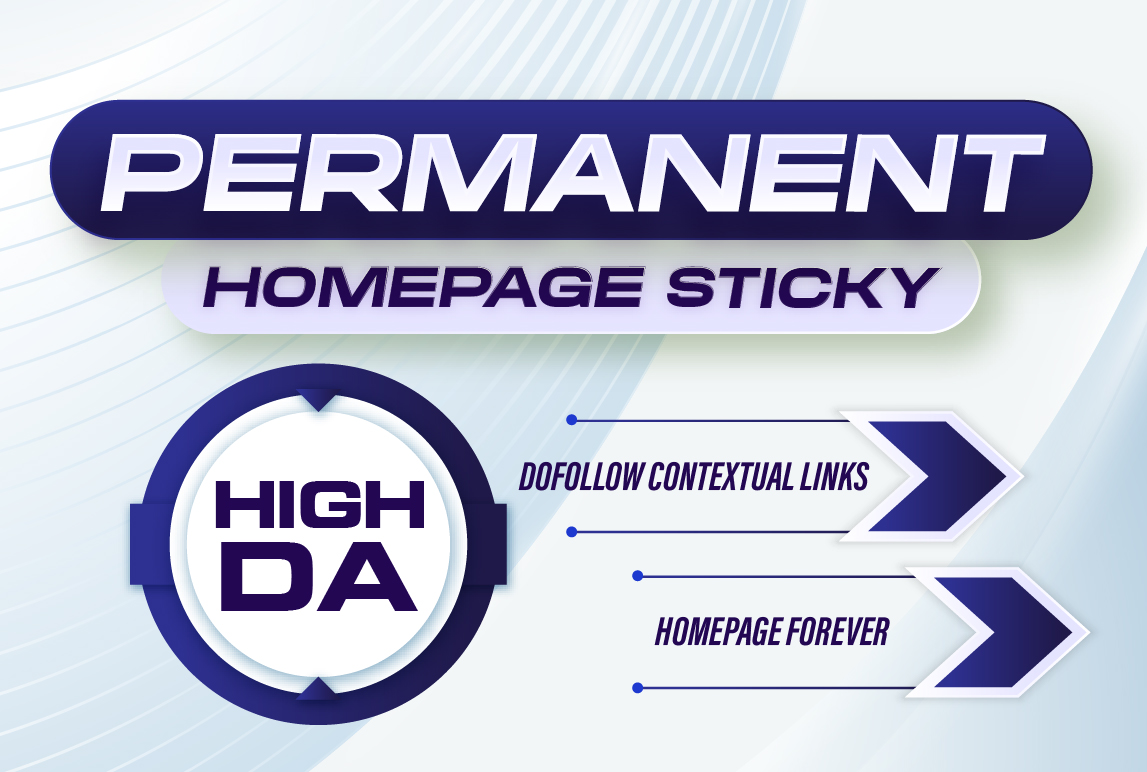 Make 10 High DA PERMANENT HOMEPAGE PBN DOFOLLOW BACKLINK