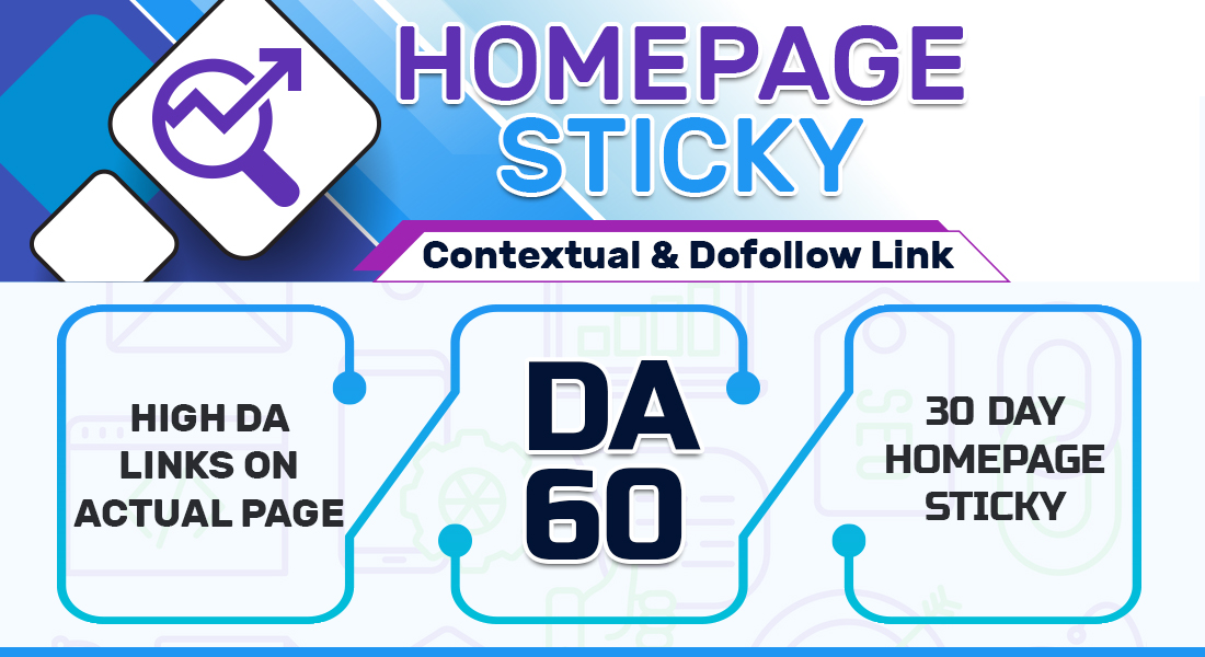 DO 2 POST On DA 60 PLUS WEBSITE,  HOMEPAGE CONTEXTUAL BACKLINK