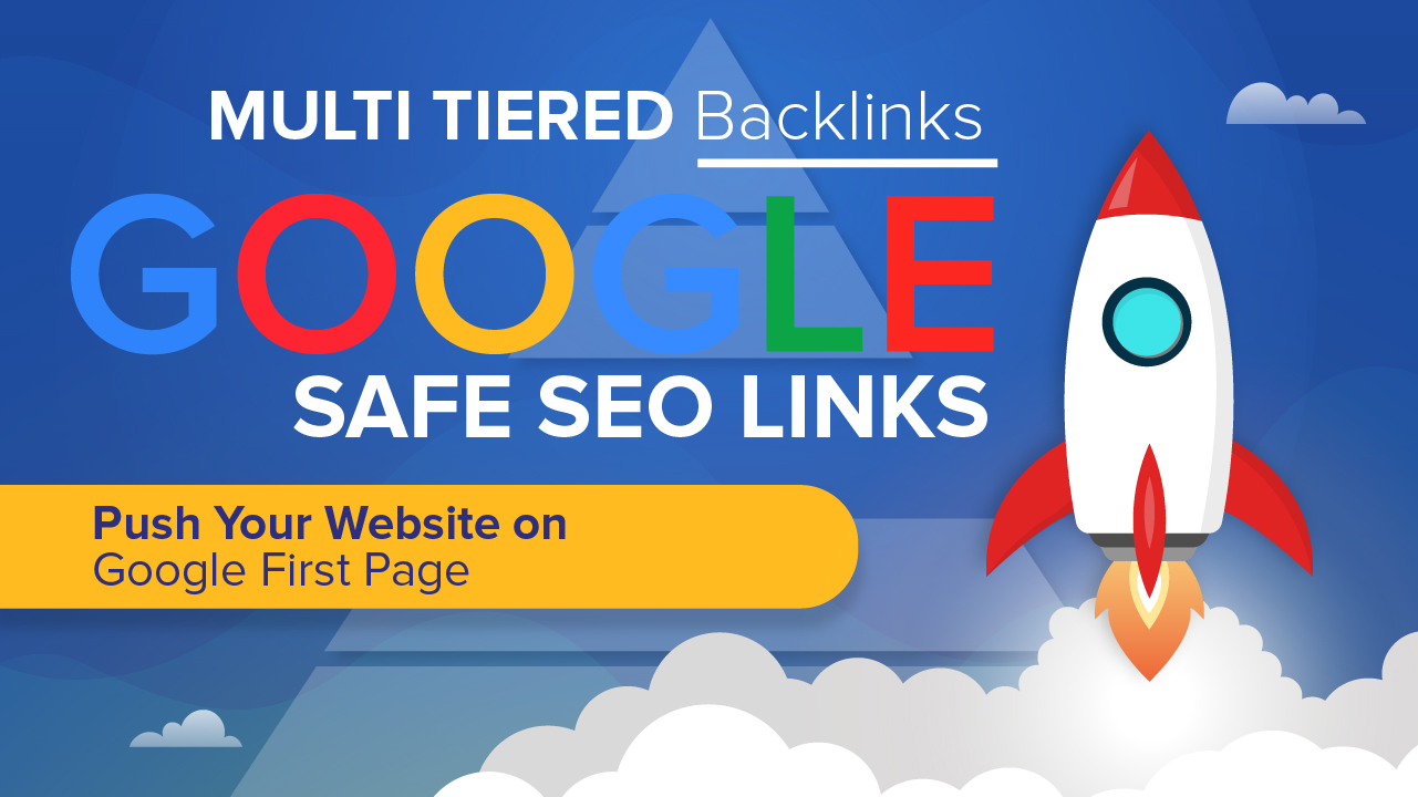 Manually Done Multi Tiered SEO Backlinks - Rank Your Website with Dofollow Link Building Package